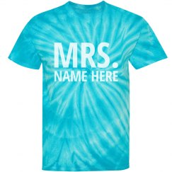 Mrs. Turquoise Text