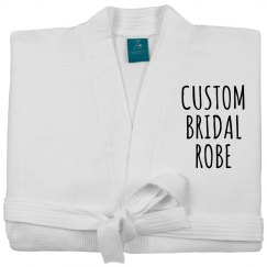 Customizable Spa Bride Robe