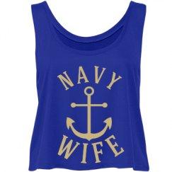 Navy bride.