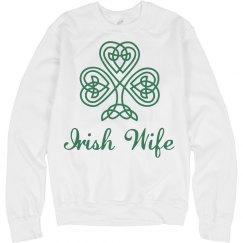 Irish Wife on St. Patrick's Day