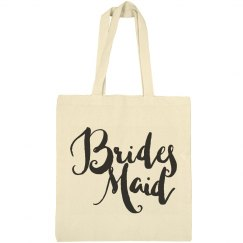 Cute Bridesmaid Gift Brush Script