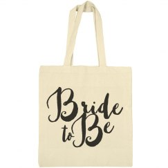 Bride To Be Matching Brush Script