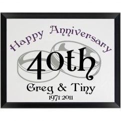 Happy 40th Anniversary