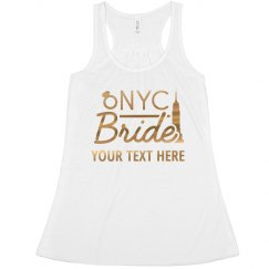 Metallic New York City Bride