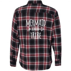 Mermaid Tribe Flannel Shirt
