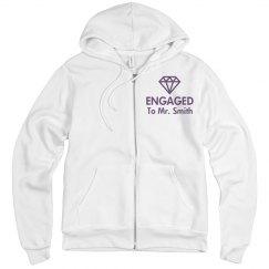 Engaged Bride Sweatshirt