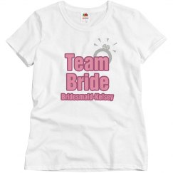 Team Bride Ring Maid