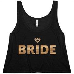 Bride To Be Gold Diamond