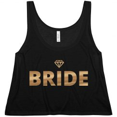Bride To Be Gold Diamond