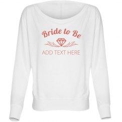 Diamond Laurel Bride To Be