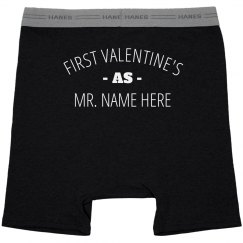 Husbands First Valentine's