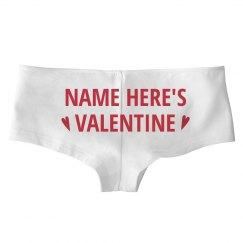His Custom Valentine's Gift