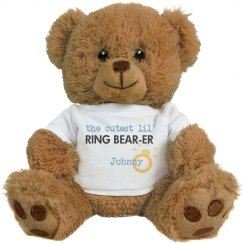 Cutest Ring Bear-er Teddy
