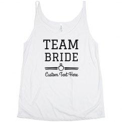 Custom Team Bride Bachelorette