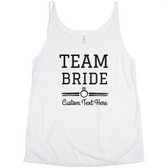 Custom Team Bride Bachelorette