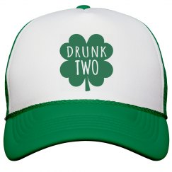 Drunk Two Bachelorette Cap