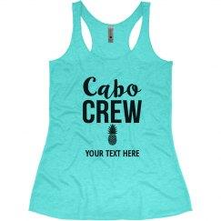 Cabo Crew Bachelorette Tank Tops, Cabo Bachelorette