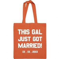 Custom Date This Gal Is Married