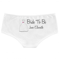 Bride To Be Intimates