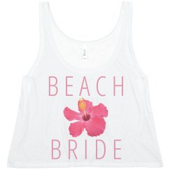Trendy Beach Bride