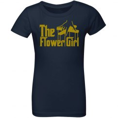 The Flower Girl Girl's Tee