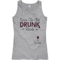 Wine Tasting Bride To Be
