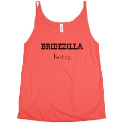 Bridezilla Tank Top