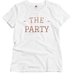 The Party Rose Gold Metallic