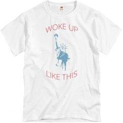 Men's Tee Shirt Woke Up Like This