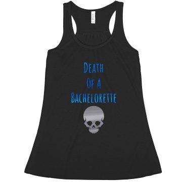 Death Of A Bachelorette blue & silver