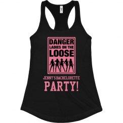 Danger Bachelorette Tank