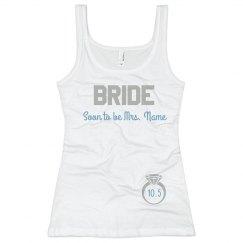 Team Bride Diamond Ring