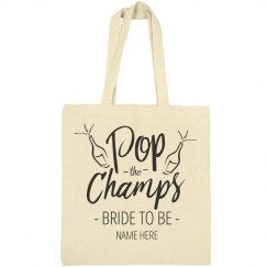 Pop The Champs Custom Bride