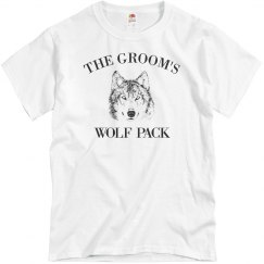 Funny The Groom's Wolf Pack