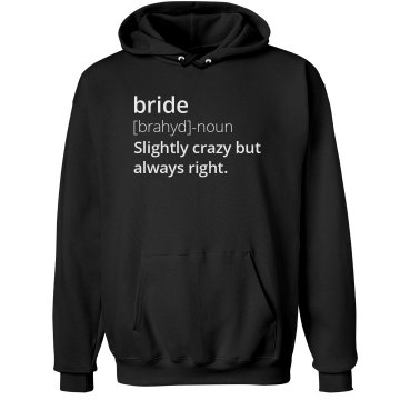 Definition of a Bride