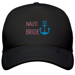 Nauti Bride Trucker Hat