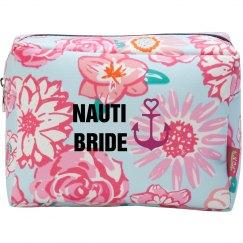 Nauti Bride Makeup Bag