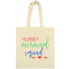 Bride's Mermaid Squad Tote