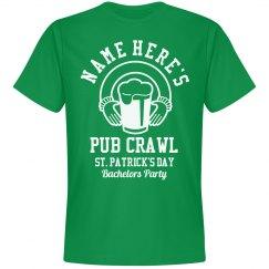 Bachelor St. Patrick's Pub Crawl