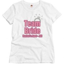 Team Bride Ring Aunt