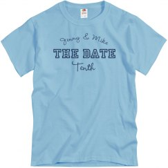 Save The Date Couple Tee