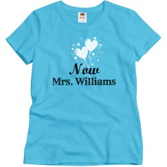 Now Mrs After the Wedding Tshirt