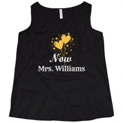 Curvy Plus Size Newlywed Tank