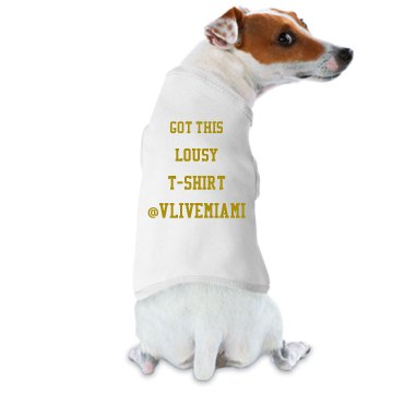 Dog tanktop
