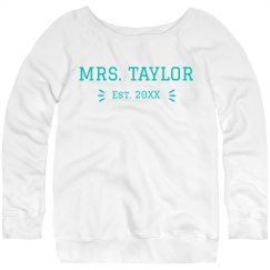 Your Est. Date Sweatshirt