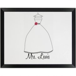 Bride Plaque