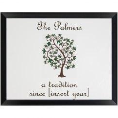 The Palmer's Plaque