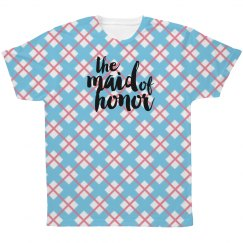 All Over Print Maid of Honor Tshirt