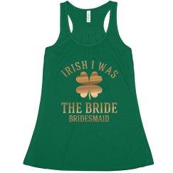 Envious Irish Bridesmaid