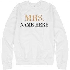 Metallic Custom Mrs